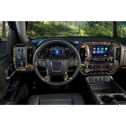 Realtree Camo Graphics Camouflage Brand Auto Car Truck SUV Vehicle Camo Graphics - 12X24 Auto Interior Skin - Camo