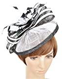 Womens Formal Party Fascinator Hat with Headband for Cocktail