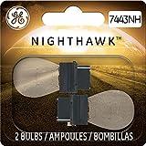 GE Lighting 7443NH/BP2 Nighthawk Replacement Bulbs, 2-Pack