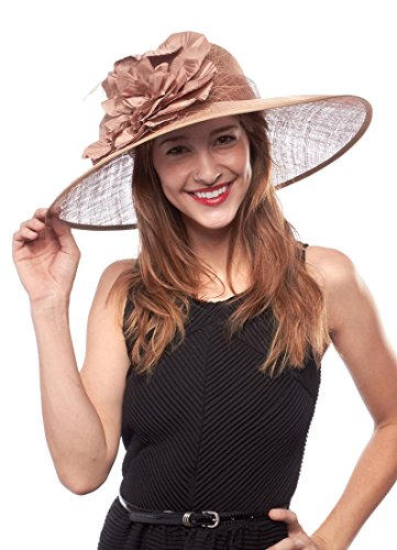 UPC 638803513085, Lexington Lady Sinamay Derby Hat, Coffee
