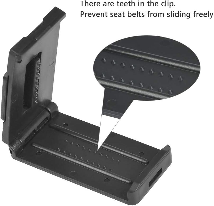 BUYGOO 2PCS Clip de ceinture pour ceinture de s/écurit/é en voiture