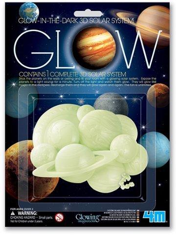 4M Glow 3D Solar System