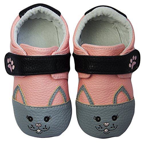 Rose & Chocolat Chaussures Bébé Sweetheart Kitty Rose