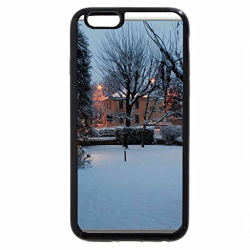 iPhone 6S Case, iPhone 6 Case (Black & White) - Over my window