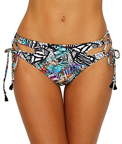Side Tie Rio Bikini Swimsuit - Freya Hot in Havana Rio Side-Tie Bikini Bottom, XS, Multi Print