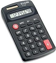 Calculadora de bolso Elgin 8 dígitos CB1483 em Blister, Elgin, 42CB14850000, Preta