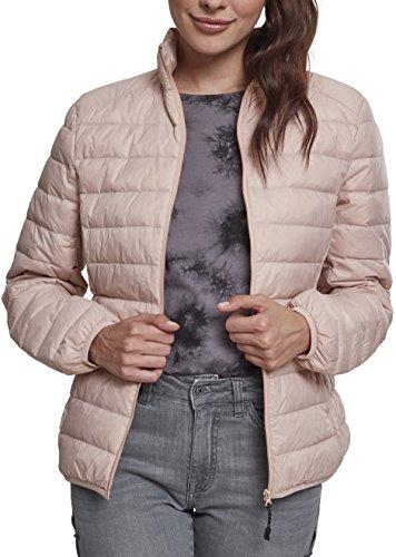 Urban Classics Ladies Basic Jacket, Blouson Femme Rose (Light Rose 00838)