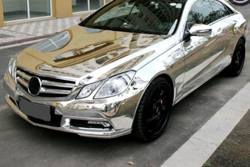 Nuoya001 New 12 X60 Silver Metallic Car Sticker Wrap