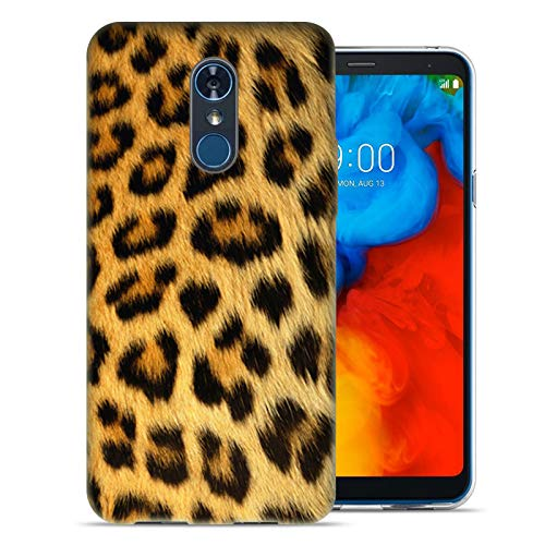 - MUNDAZE for LG Stylo 4 / Stylo 4 Plus UV Printed Design Case - Classic Leopard Design Phone Cover