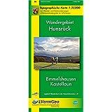 Wandergebiet Hunsrück - Emmelshausen, Kastellaun: Topographische Karte 1:25 000 mit Wander- und Radwanderwegen mit dem Saar-Hunsrück-Steig sowie den ... Rheinland-Pfalz 1:15000 /1:25000)