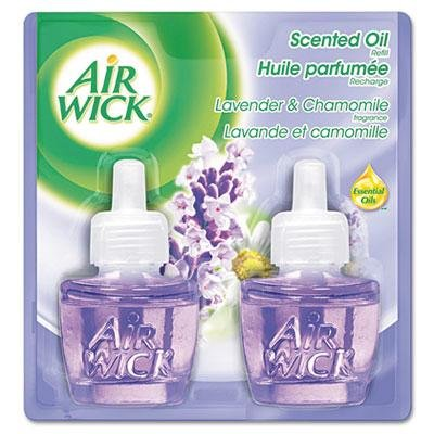 Air Wick - Scented Oil Refill Lavender & Chamomile .67Oz 2/Pack ''Product Category: Breakroom And Janitorial/Cleaning Products'' by Original Equipment Manufacture