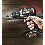 Worx-WX175-Trapano-Avvitatore-a-Batteria-Motore-Brushless-20-V-Nero