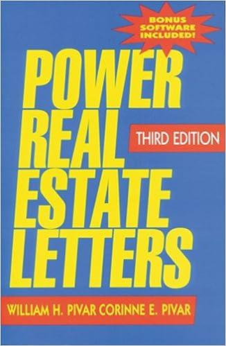 power real estate letters power real estate letters letters e mails more to meet all busi william h pivar bradley a pivar 9781419504730