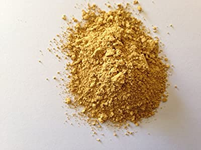 Yellow ochre pale (4 Lb) pigment/dye for concrete,ceramic,grout,house paint,wall paint,render,pointing,cement,mortar,bricks,tiles