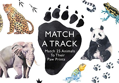 Match a Track: Match 25 Animals to Their Paw Prints (Magma for Laurence King)