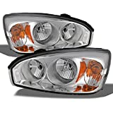 Chevy Malibu OE Replacement Chrome Bezel Headlights Driver/Passenger Head Lamps Pair New