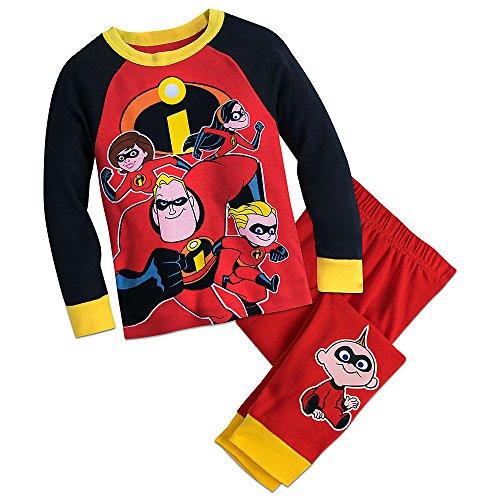 Disney Incredibles PJ PALS Pajamas Size -