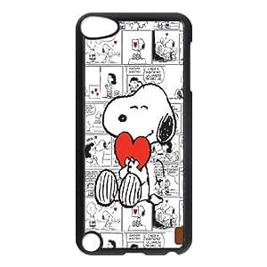 [Tony-Wilson Phone Case] FOR Ipod Touch 5 -IKAI0447151-Cute & Funny Snoopy