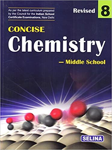 amazon in buy selina concise chemistry middle school for class 8