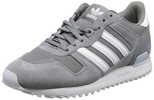adidas ZX 700, Zapatillas Hombre Gris (Grey Three/Footwear White/Grey Three)