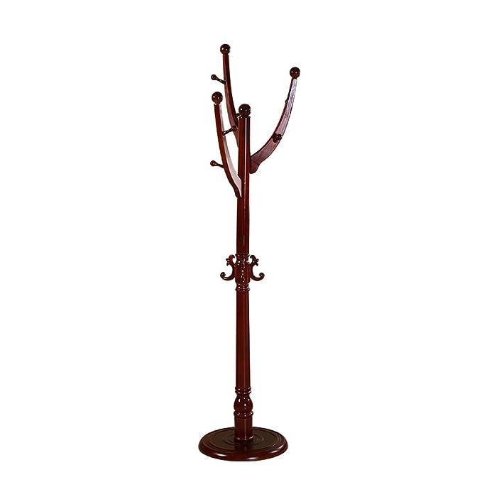 Amazon.com: Yan Jun - Perchero de pie con árbol de madera ...