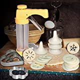 Cookie Press Gun Kit Biscuit Maker Cake Dessert