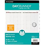 Day Runner Monthly Planner Refill 2016, 8.5 x 11 Inches (068-685Y-16)