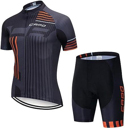YYDM Verano Conjunto Ropa Ciclismo - Camisa De Los Hombres De ...