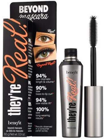 BENEFIT THEYRE REAL BEYOND MASCARA - BLACK 8.5G: Amazon.es ...