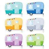 Creative Teaching Press Woodland Friends Vintage Trailers 6