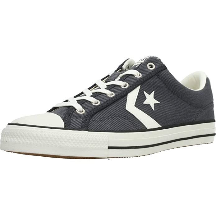 Converse Star Player Low Top Unisex Erwachsene Schwarz (Storm Wind)