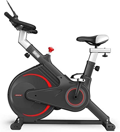 Bicicleta de ciclismo de interior: volante, correa de transmisión, bicicleta estacionaria, bicicleta de spinning casera, bicicleta de ejercicio, bicicleta de ejercicio de pedal de interior, resisten: Amazon.es: Hogar