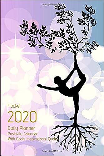 pocket daily planner positivity calendar goals