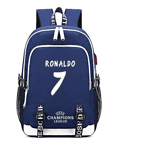 più foto 121db 84391 SJYMKYC Stella Del Calcio Zaino Ronaldo Juventus Zaino ...