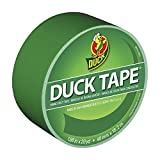 Duck Brand 1304968 Color Duct Tape, Green, 1.88 Inches x 20 Yards, Single Roll