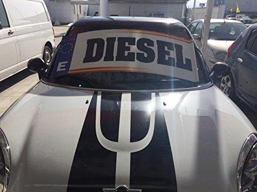 Parasol publicitario Diesel | Cartel diesel concesionarios ...