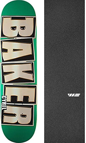 不正直産地アンドリューハリディBaker Skateboards Cyril Jacksonジャクソンブランド名Glitter Greenスケートボードデッキ – 8