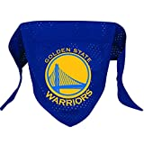 Hunter MFG Golden State Warriors Mesh Dog Bandana, Small