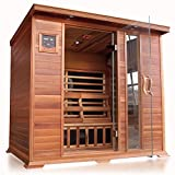 SunRay Savannah 3 Person Infrared Cedar Sauna