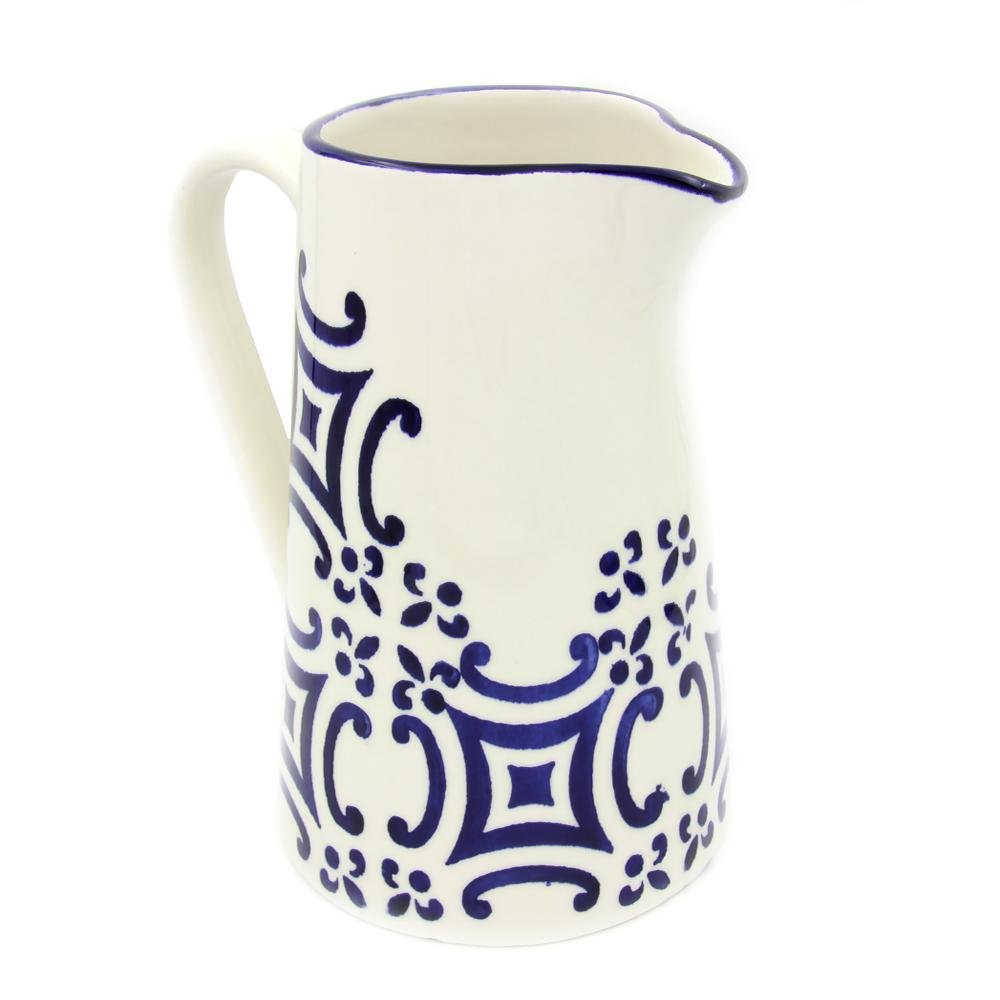Portugal Gifts Hand-painted Ceramic Pitcher Made in Portugal
