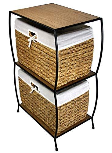 (PTC Home & Garden Nassau Two Drawer File Cabinet)