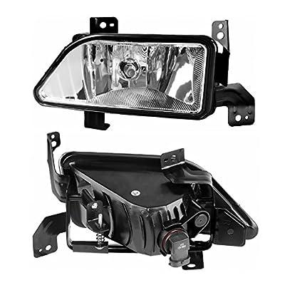 AUTOSAVER88 Fog Lights Compatible with 2006 2007 2008 Honda Pilot (Clear Lens w/Bulbs): Automotive