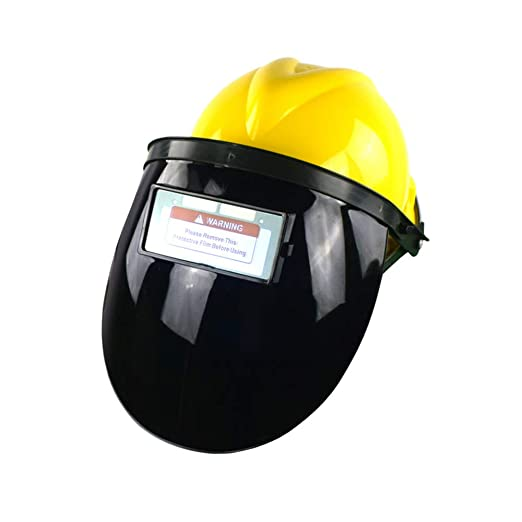 LYY Máscara de Soldadura de atenuación automática semicerrada para ...