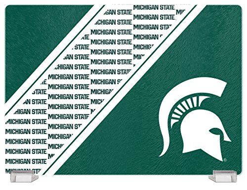 Spartans Tempered Glass Cutting Board with Display Stand ()