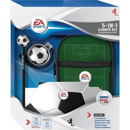 EA Sports 5-IN-1 Gamer Kit for Nintendo DSi and DS Lite (Soccer) (Nintendo Dsi Games Soccer)