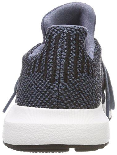 adidas Unisex-Kinder Swift Run C Laufschuhe Grau (Raw Steel S18/core Black/core Black)