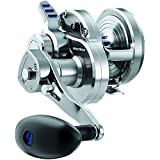 Daiwa Saltiga Lever Drag 2-Speed Reel - Silver 50 (Color: Silver, Tamaño: 50)