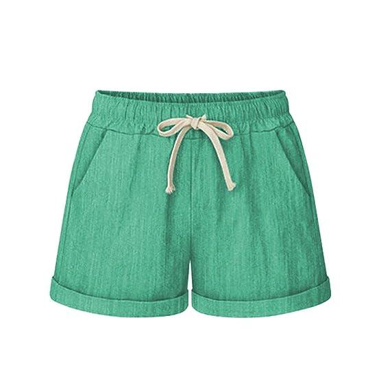 Amazon.com: YKARITIANNA Women Plus Size 2019 Pocket Bandage Solid Shorts, Summer Running Sports Wide Leg Causal Sexy Home Fitness Short Pants: Arts, ...
