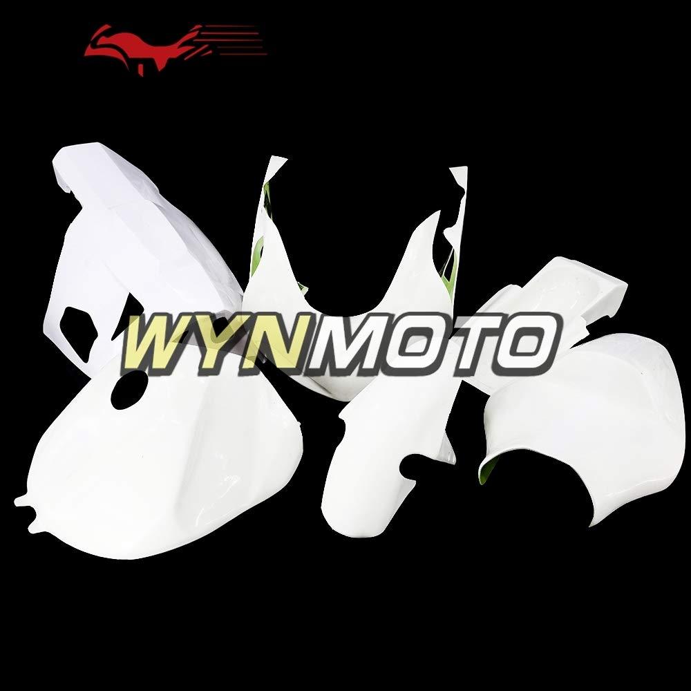 WYNMOTOオートバイ未塗装グラスファイバーレーシングフルスイング用キットGSXR600 GSXR750 2000 2001 2002 2003ネイキッドグラスフェアフェアリングボディケアガラス繊維車体   B07MN2MB2Y