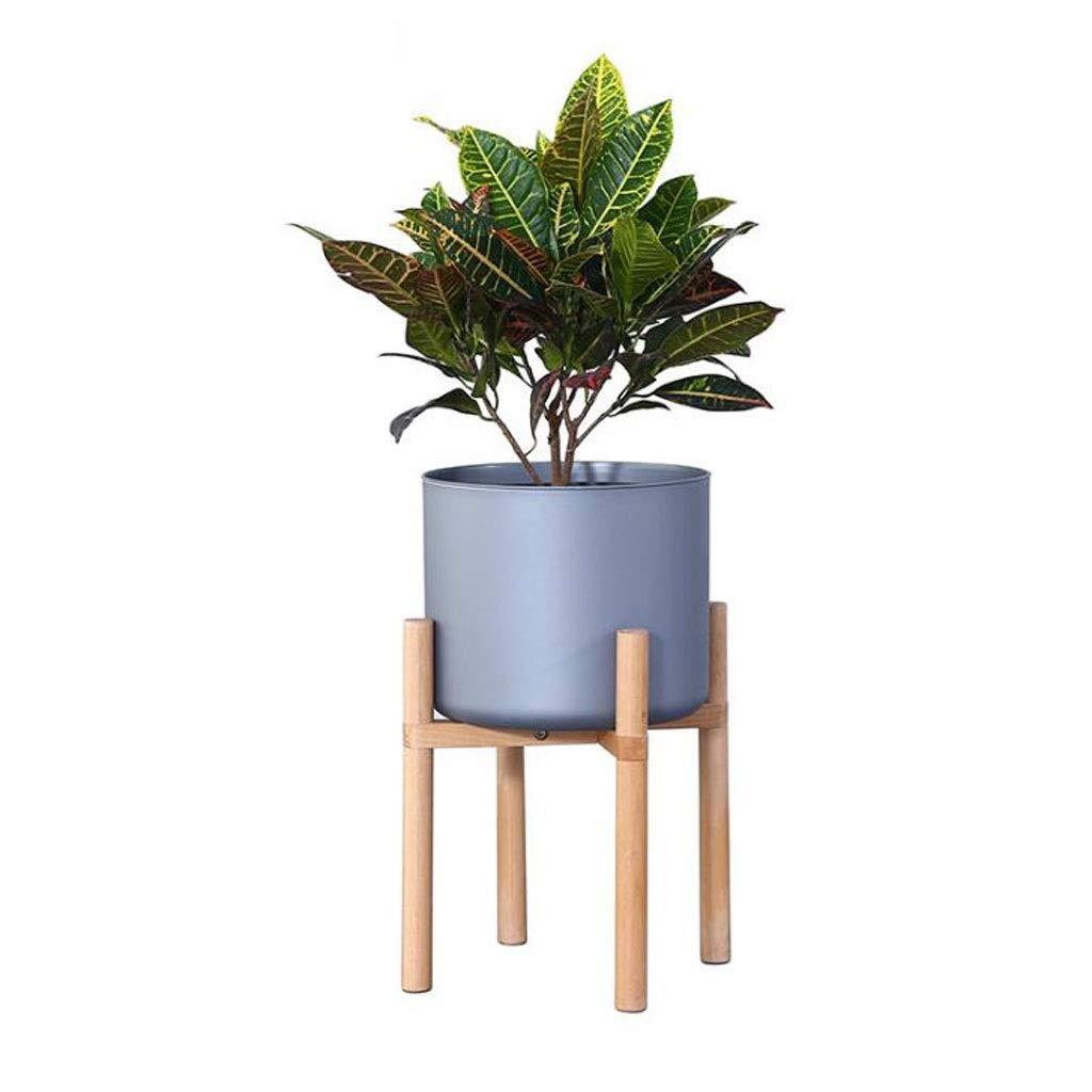 prezzi all'ingrosso LYN Scaffale per Piante, Pianta Stand Mid Mid Mid Century Wood Flower Pot Holder Arredonnato per Interni in Vaso Moderno  100% nuovo di zecca con qualità originale